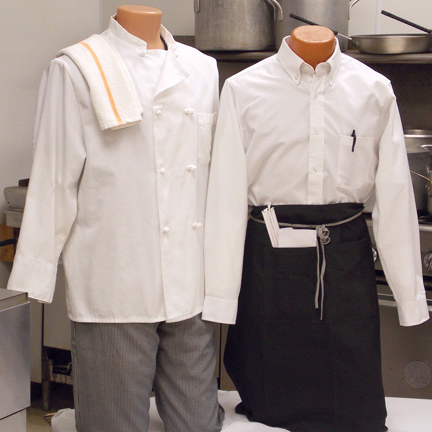 Chef & Butcher Coats | Uniform Programs | APPEARA