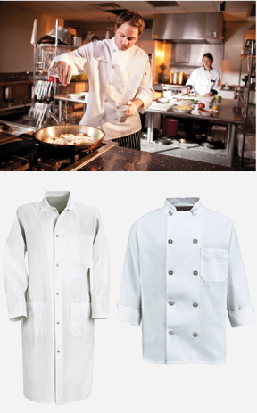 Chef and Butcher Coats