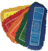 Colorful Dust Mop Heads
